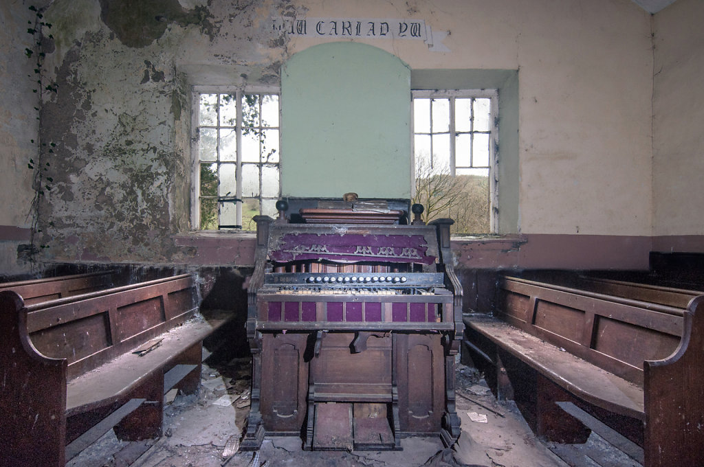 Abandoned Welsh Chapel