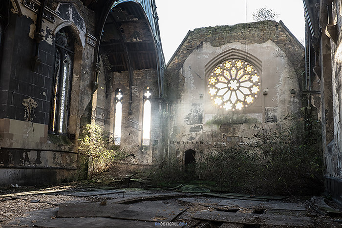 Decaying Church, Merseyside