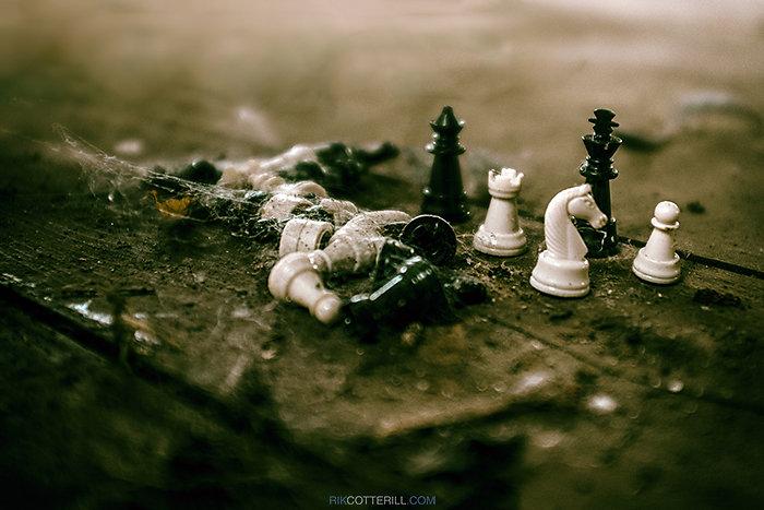 Lost Chess Board